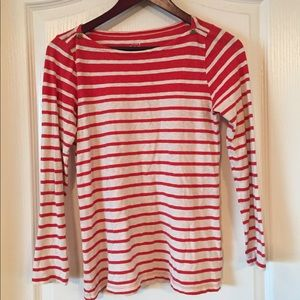 J. Crew Striped Painter Tee